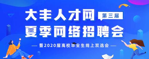 大丰2020夏季网络招聘会