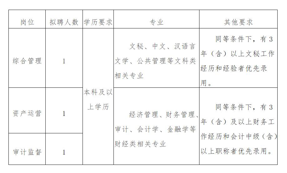 盐城海鑫投资集团有限公司招聘通告